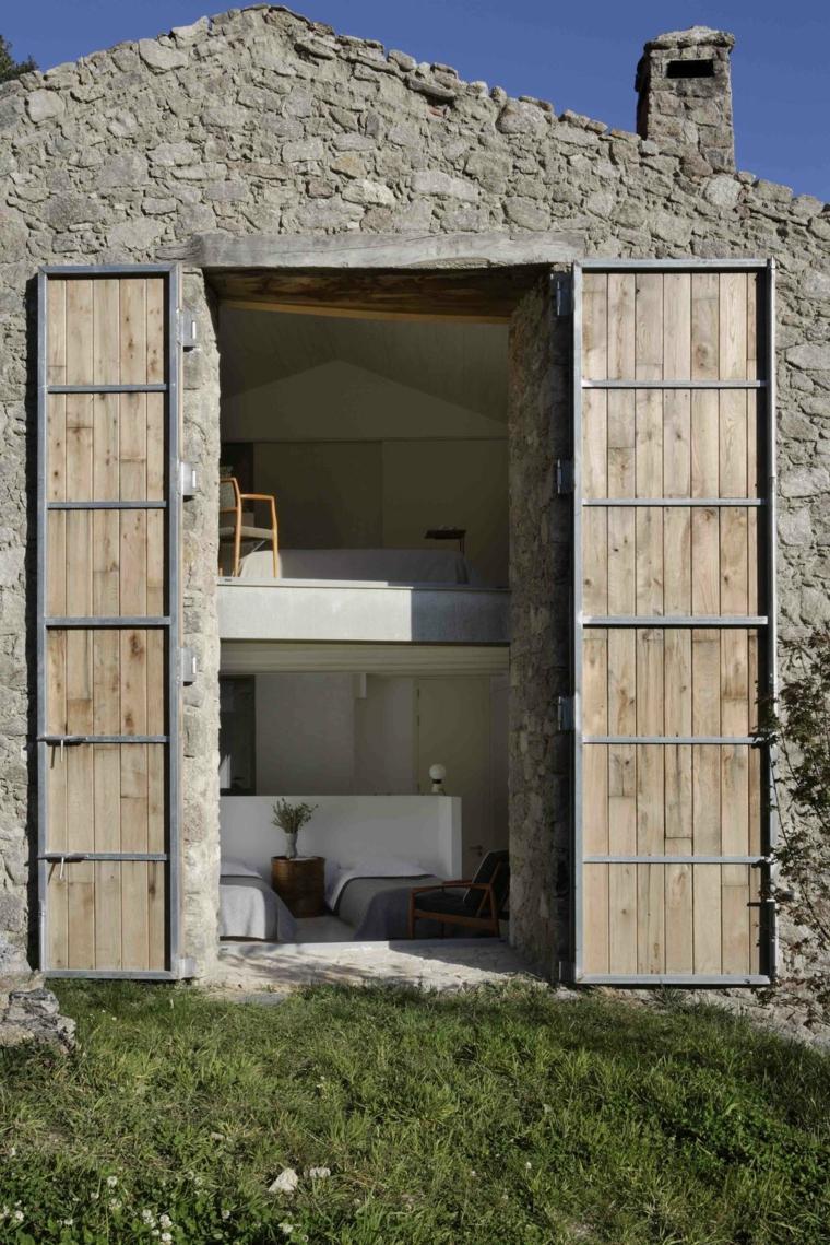 Fachadas de casas de piedra natural el exterior tambi n - Piedra natural para exterior ...