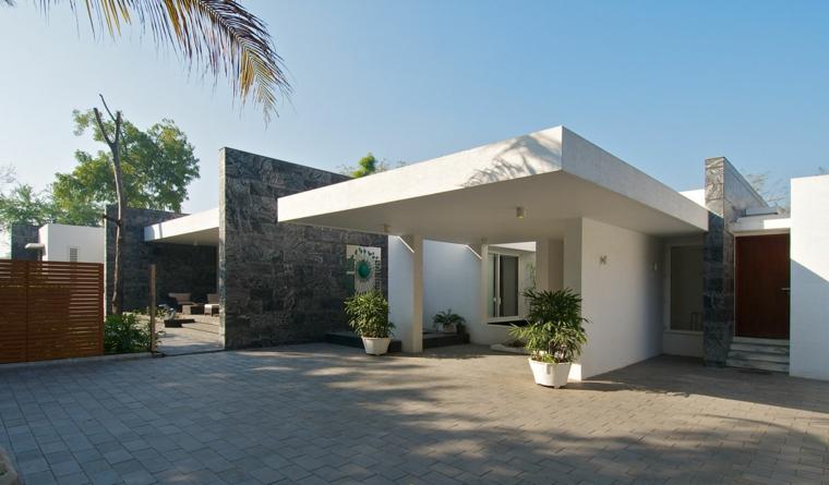 Dise os de casas minimalistas de una planta disfruta de for Casas minimalistas en una sola planta