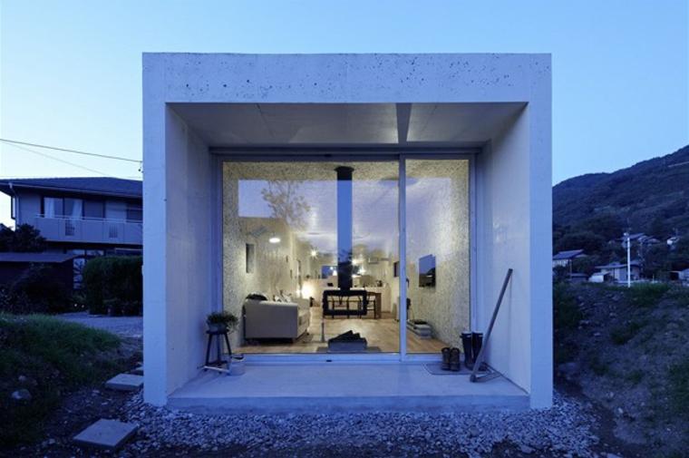 Dise os de casas minimalistas de una planta disfruta de - Architecte japonais ...