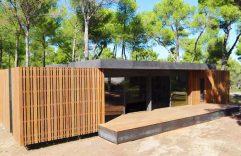 Diseño de una casa pasiva con un nuevo sistema prefabricado, construcción de vivienda en cuatro días