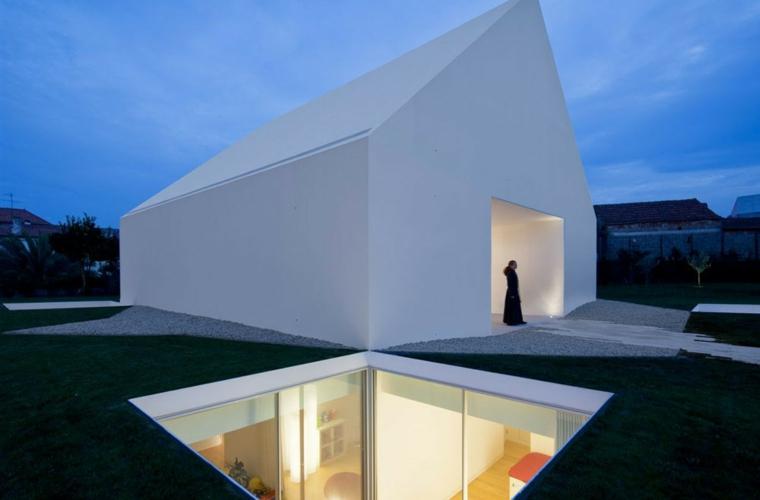 Dise os de casas minimalistas de una planta disfruta de for Disenos techos minimalistas