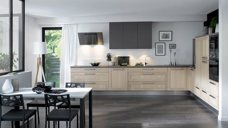 Mesas de cocina de diferentes estilos para decorar el for Cuisine equipee bas prix