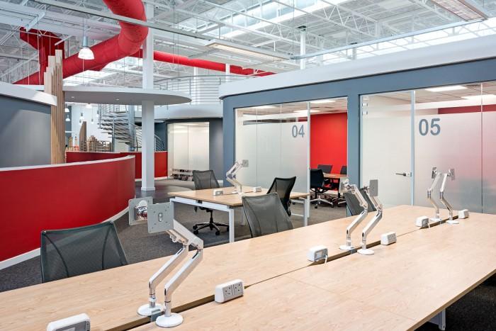 Dise o de oficinas cool para que tu tiempo trabajando pase for Disenos de oficinas modernas gratis
