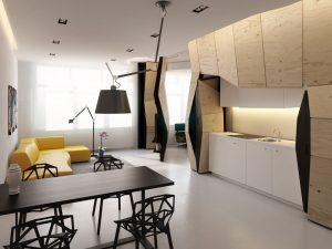 Parte 1: Ideas de diseño de departamentos pequeños, te compartimos soluciones creativas para distribuciones de ambientes