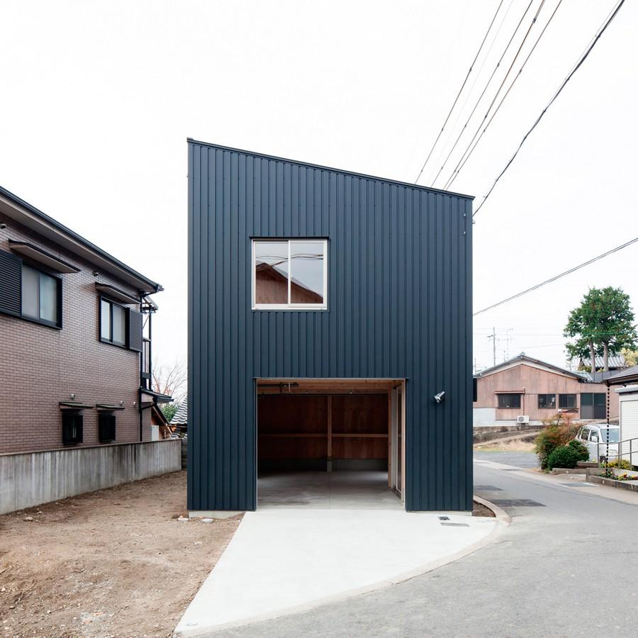 Casa econ mica de dos pisos construcci n simple con una for Construcciones minimalistas