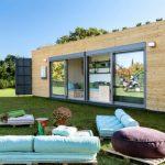 Contenedores marítimos para el diseño de casas, no te pierdas esta interesante propuesta sencilla ideal para vacacionar