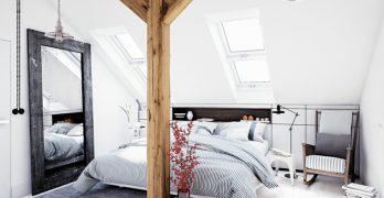 Diseño de interiores en color blanco y madera, 25 ideas que te serán de gran ayuda para implementar en tu casa