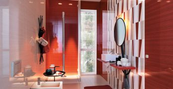 Cerámicas para cuartos de baño, diferentes modelos y colores así como también diseños de todo tipo