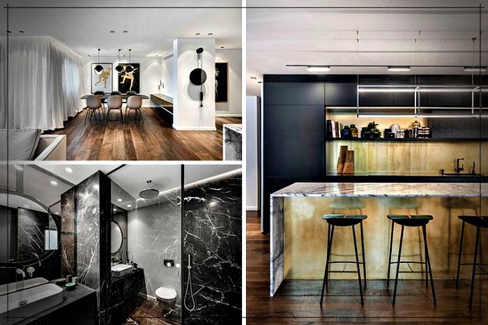 Dise o de un apartamento super moderno ideal para for Diseno de un apartamento moderno