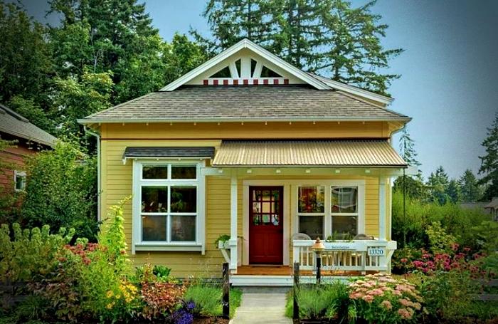 Casas peque as con mucho encanto 40 im genes que te enamorar n mundo fachadas - Casas pequenas con encanto ...