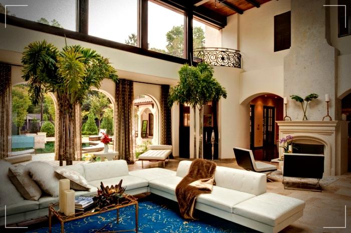 Dise os de interior de casas modernas de estilo for Diseno de casas interiores fotos
