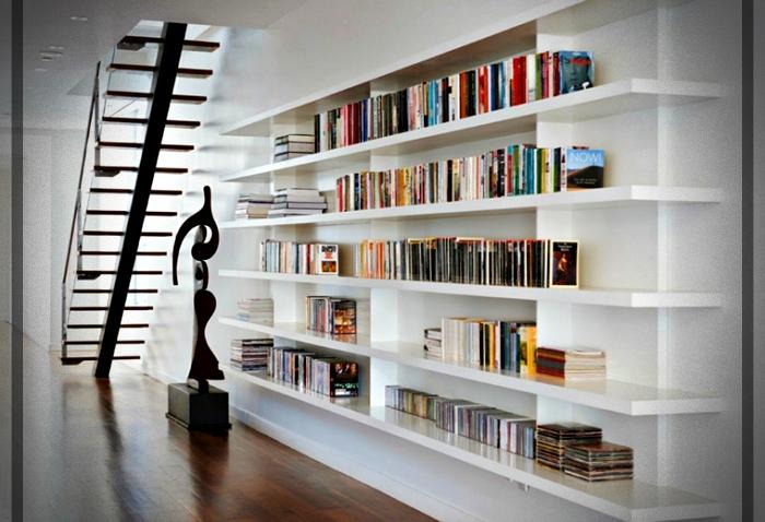 Estantes para libros dise os modernos y funcionales para tu interior mundo fachadas - Estantes funcionales ...