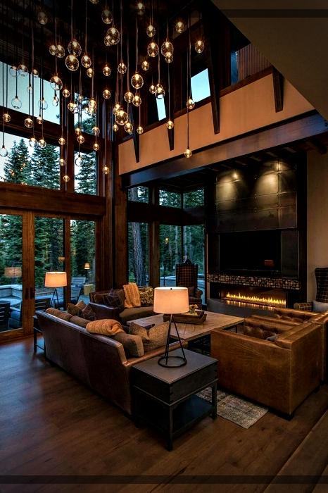 salones r sticos decoraci n interior acogedora para tu sala de estar mundo fachadas. Black Bedroom Furniture Sets. Home Design Ideas