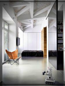 El loft de un Fotógrafo – diseños sencillos e iluminados