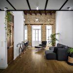 Diseño de loft monoambiente moderno – construcciones simples