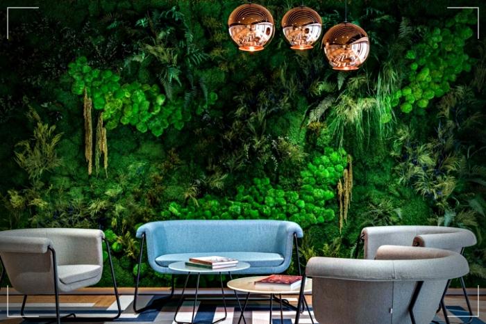 Muro verde en tu diseño interior y exterior - Su impacto ...