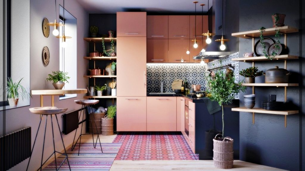 Colors for small kitchens - Tips and Photos | World Facades