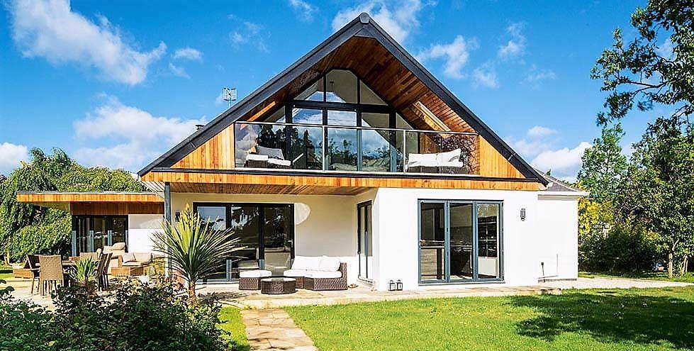 Fachadas de casas bonitas mundo fachadas for Fachadas de casas estilo contemporaneo