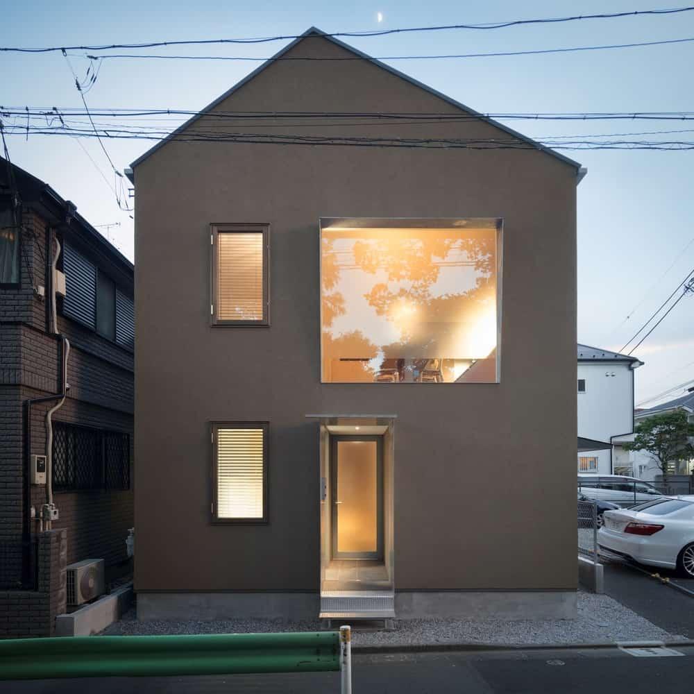 Casa de estilo japones conoce su dise o interior moderno for Casa moderna japonesa