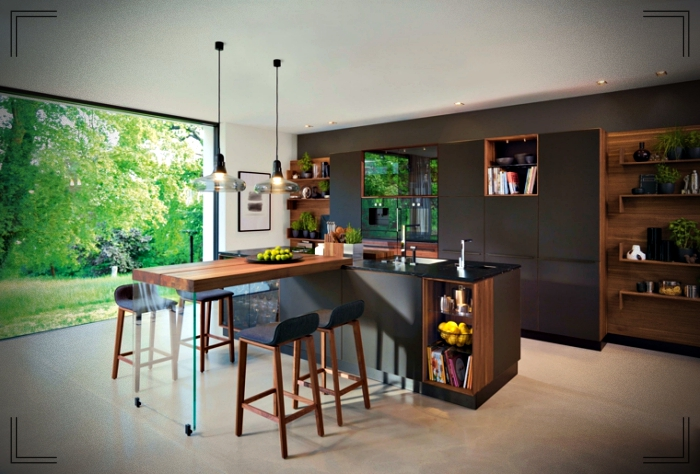 Black Kitchen The Best Ideas For The Interior Design Of Your Kitchen World Facades